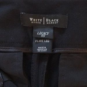 WHBM Black Dress Pants